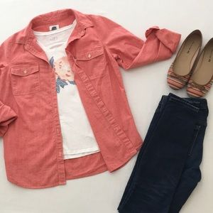 Old Navy Casual Button Front Shirt